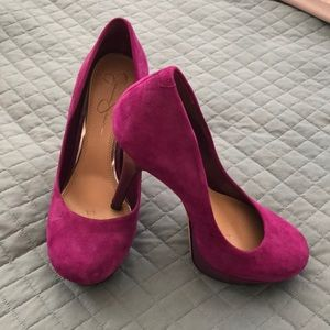 Jessica Simpson purple pumps size 7.5